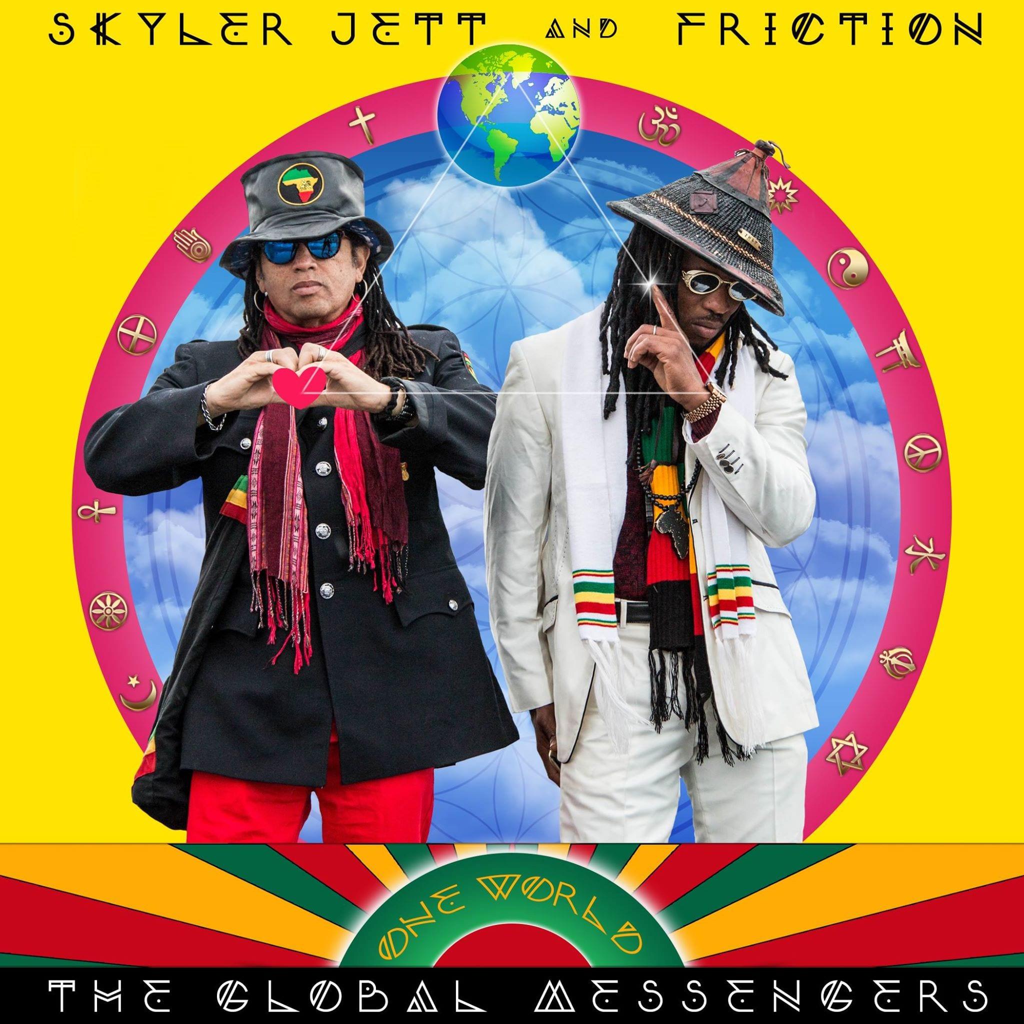 Skyler Jett & Friction - Edinburgh Recording Studio - Offbeat