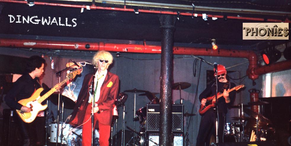 the phonies at dingwalls 1980