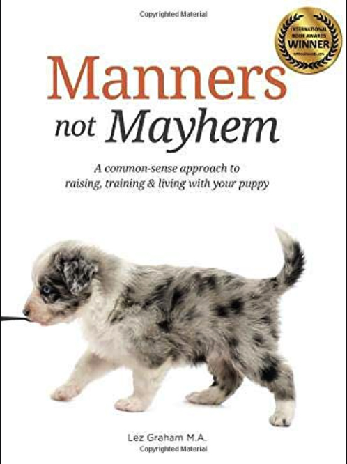 MANNERS NOT MAYHEM BOOK COVER